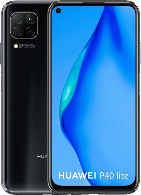 Huawei P40 Lite (geen gebruik Google Playstore) – 128GB – Zwart