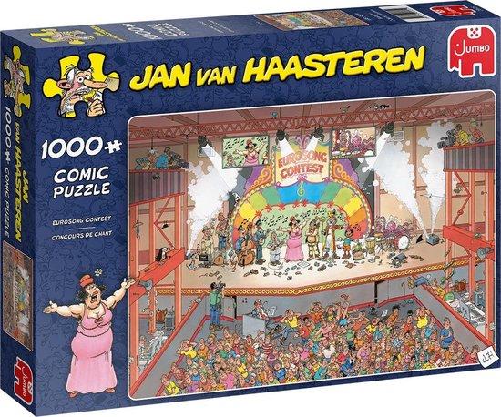 Jan van Haasteren Eurovisie Songfestival Puzzel 1000 stukjes