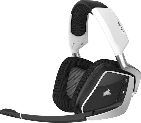 Corsair Void RGB Elite Draadloze Virtual Surround Gaming Headset - Wit - PC