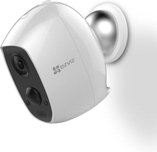 EZVIZ C3A - Uitbreiding - Draadloze IP-beveiligingscamera - Full-HD - Voor binnen en buiten - Wit