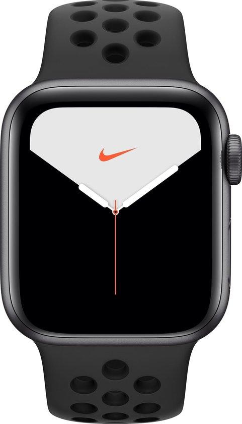 Apple Watch Series 5 Nike - Smartwatch - Spacegrijs - 44mm
