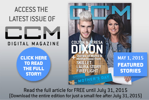 Colton Dixon, Dan Bremnes, CCM Magazine