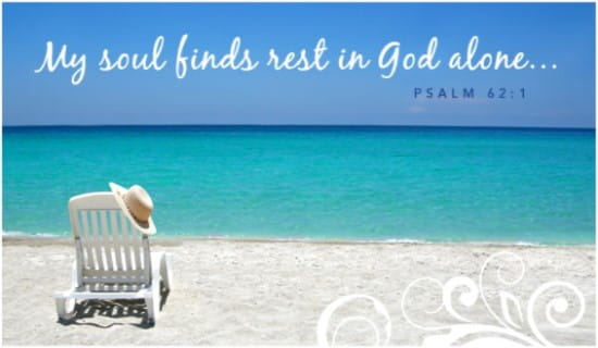 Free Soul Finds Rest ECard EMail Free Personalized