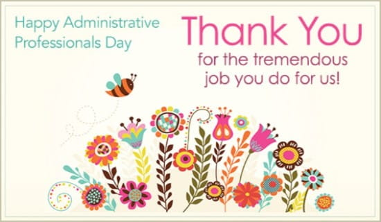 Free Administrative Professionals Day