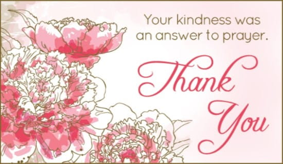 Free Answer To Prayer ECard EMail Free Personalized