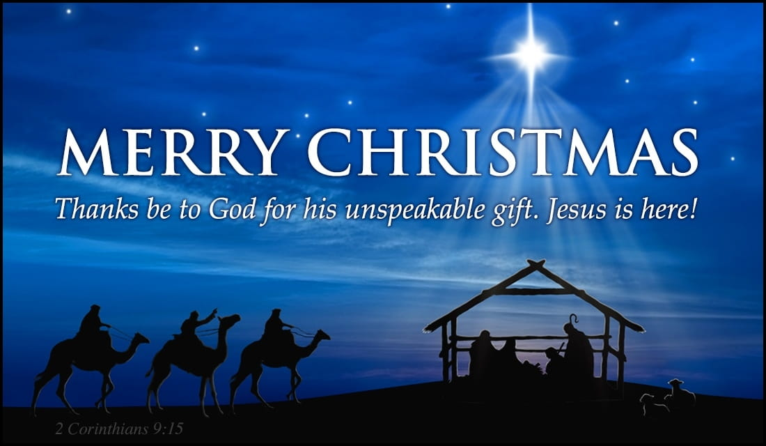 Image result for merry christmas and happy new year manger