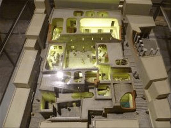 Herodian Quarter model