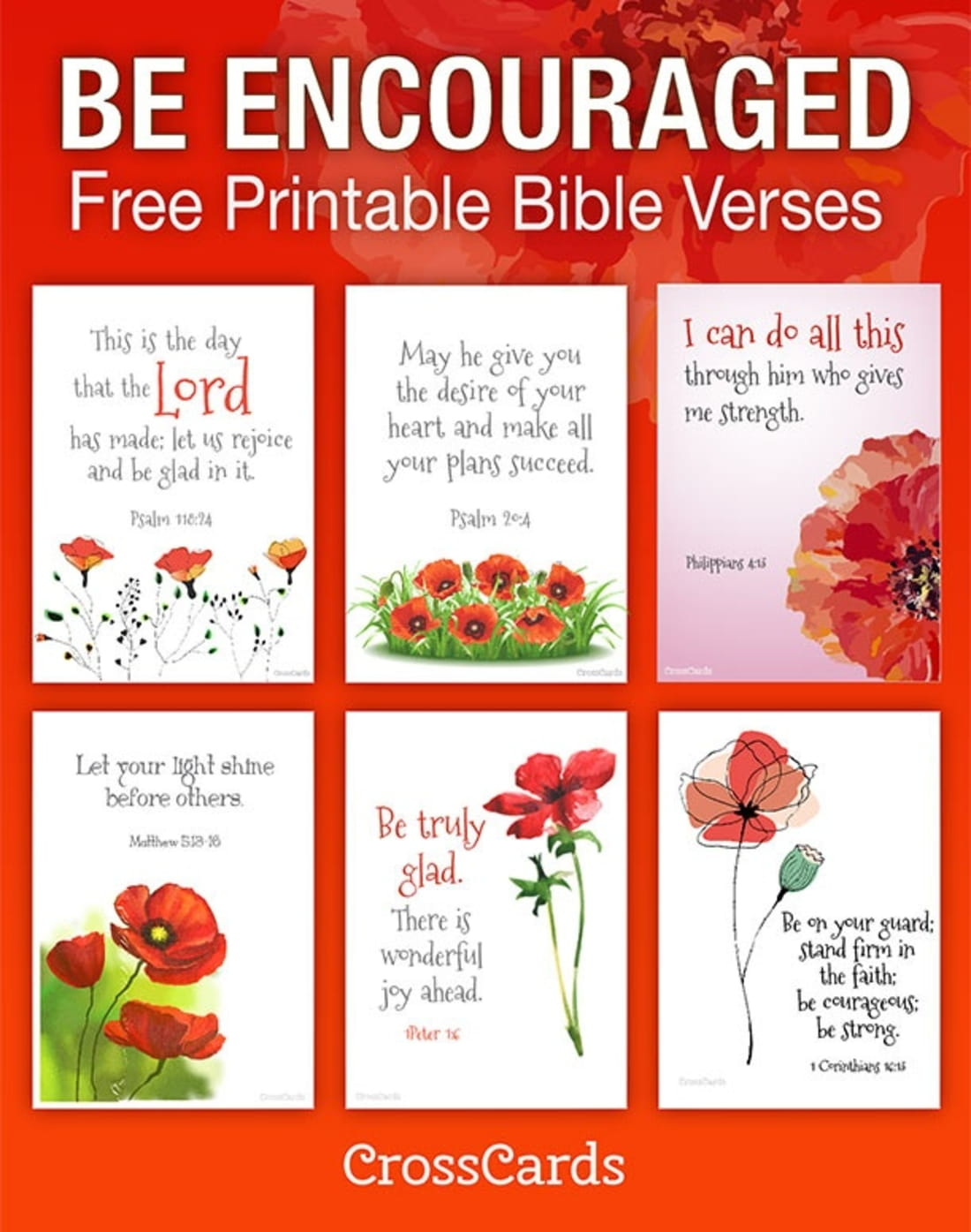 Be Encouraged Free Printable Bible Verses Printable