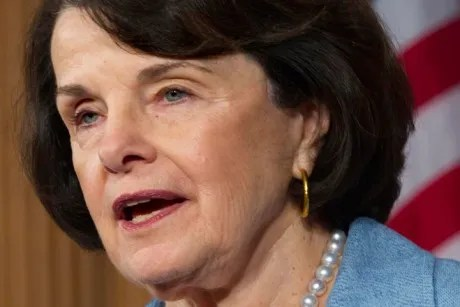 Dianne Feinstein targets press freedom