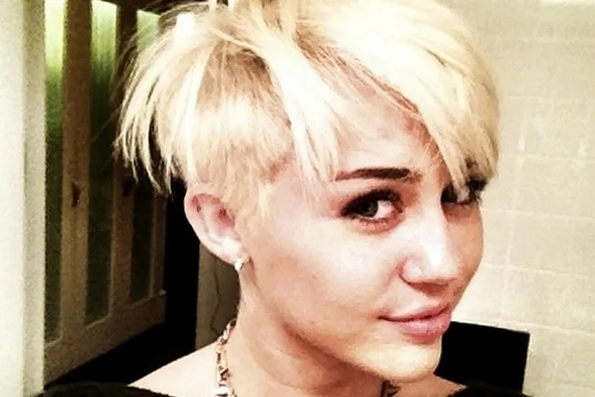 Miley Cyrus Short Hair Pictures