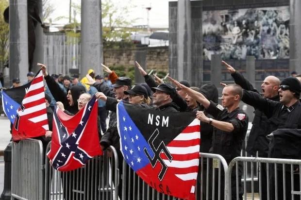 Neo-Nazis blame