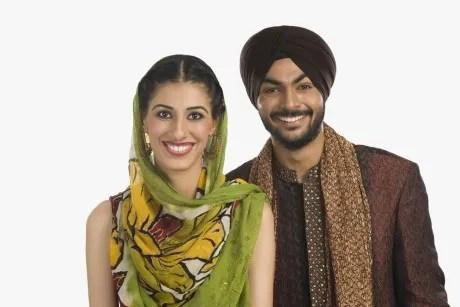 Coppia Sikh