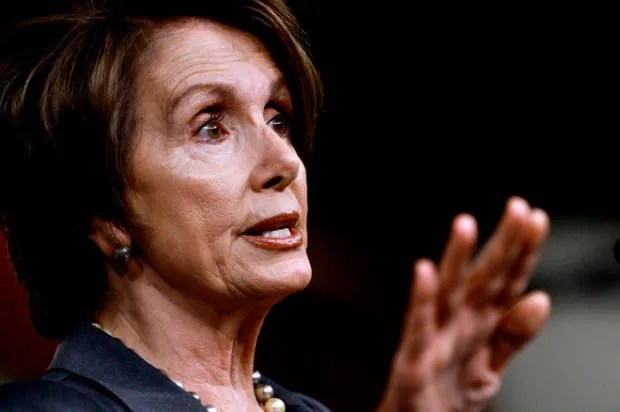 Nancy Pelosi smacks down a conservative reporter's anti-abortion talking points
