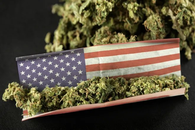 Image result for American Weed joint