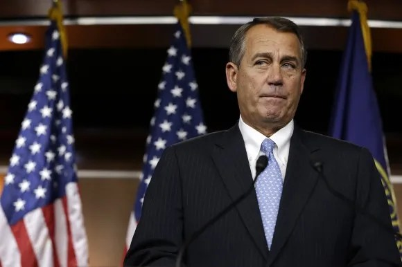 The humiliation of John Boehner