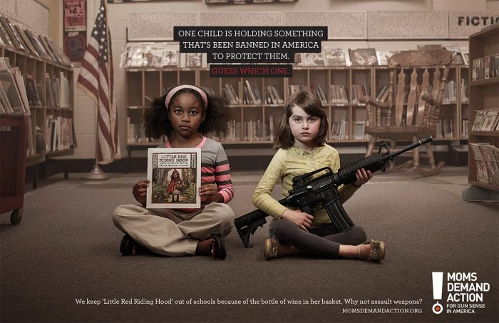 gun violence ads