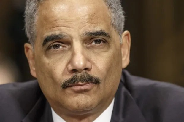 "Eric Holder smacks down GOPer: ""You don't want to go there, buddy!"""