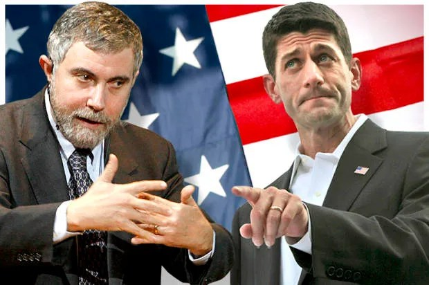 Paul Krugman bashes Paul Ryan for yet another