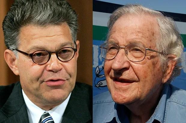 Noam Chomsky vs. Al Franken: Behind the odd progressive divide between senators, intellectuals on Gaza