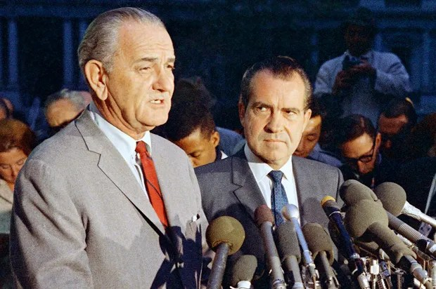 """You could blackmail LBJ"": The other Nixon scandal behind the Watergate scandal"