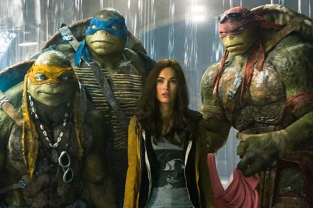 Ninja Turtles & Megan Fox