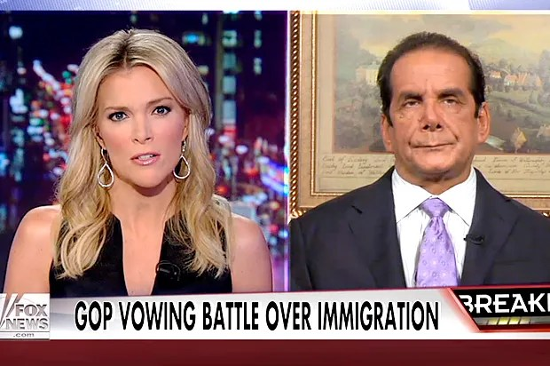 Fox revs up impeachment lunacy, with Krauthammer at the wheel