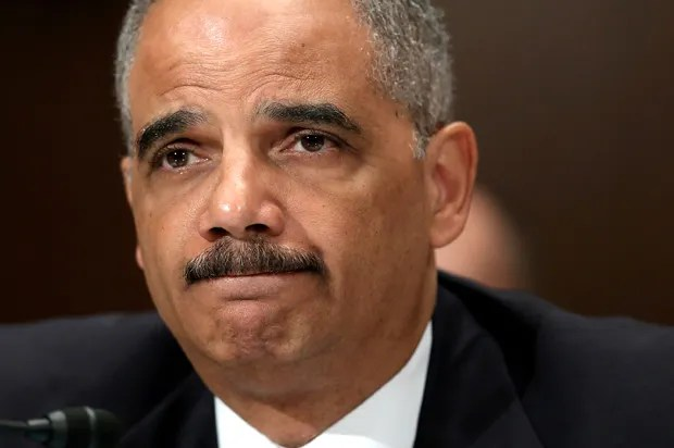 "Eric Holder's parting shot: Police abuse scandals mean the nation has ""failed"""