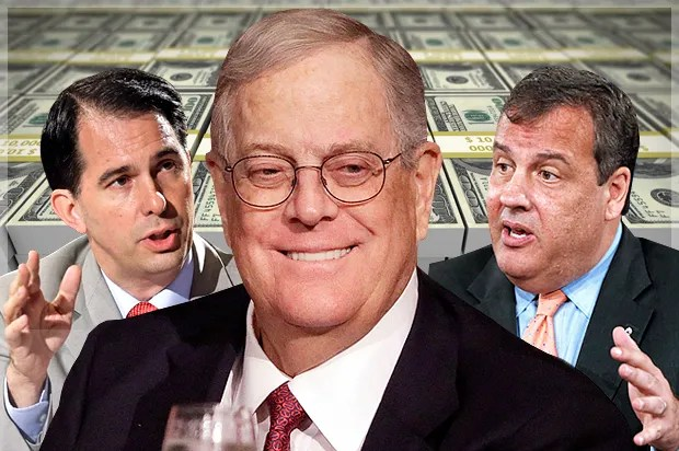 America's billion-dollar mess: How Koch bros are trying to buy a right-wing future