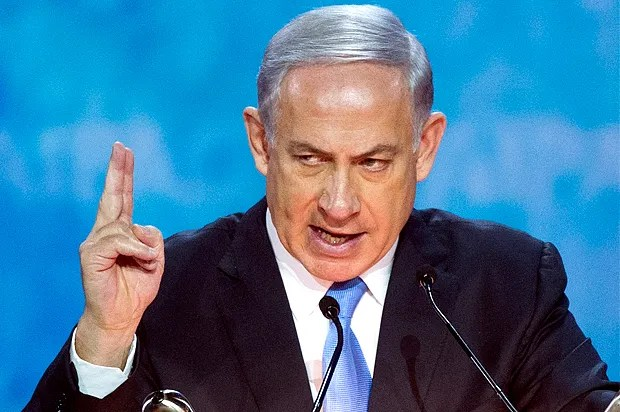 Image result for photo of benjamin netanyahu