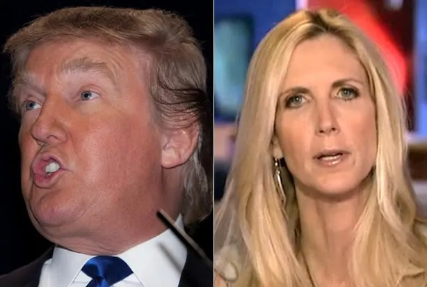Image result for Coulter Trump