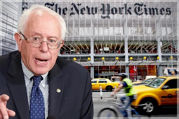 Bernie Sanders gets slimed by the New York Times: This is what a smiling, condescending hit job looks like