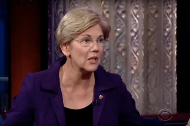 "Elizabeth Warren demolishes the myth of ""trickle-down"" economics: ""That is going to destroy our country, unless we take our country back"""