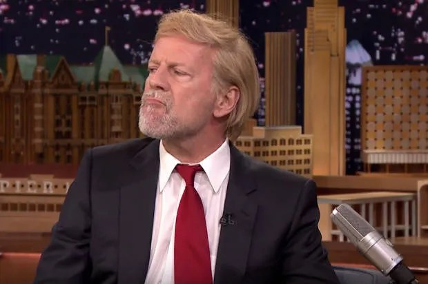 Bruce Willis is suffering from Trumpitis, he tells Jimmy Fallon