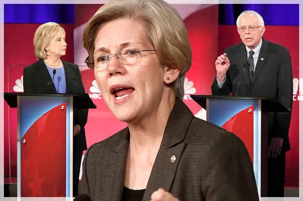 Hillary Clinton's political machine has been busted — thanks to Bernie Sanders and Elizabeth Warren