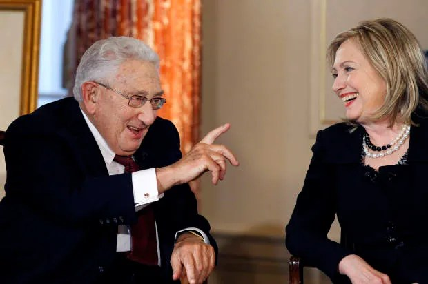 """Henry Kissinger's """"mad and illegal"""" bombing: What you need to know about his real history -- and why the Sanders/Clinton exchange matters"""