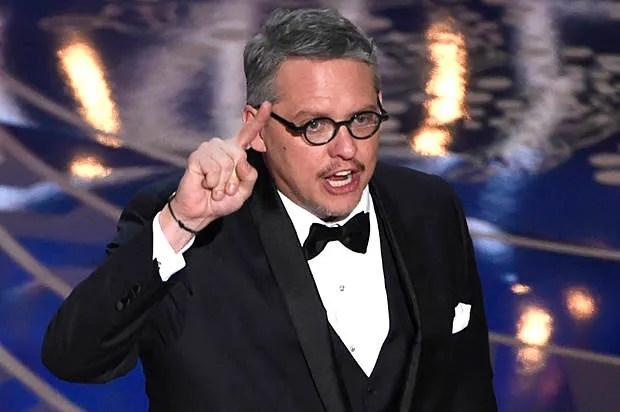 Did Adam McKay just call out the Koch brothers on the Oscars stage?
