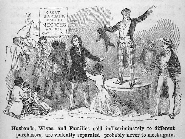 Anti-slavery literature from 1853 (Credit: Public domain/Wikimedia Commons)