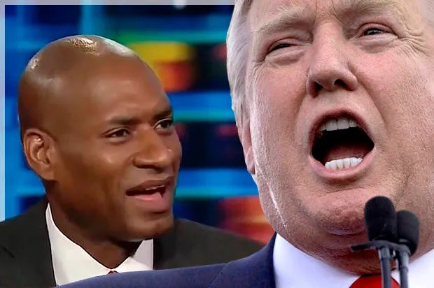 """You're supporting a bigot. That makes you part of the bigotry."" Charles Blow's master class in cutting through Trump hackery"