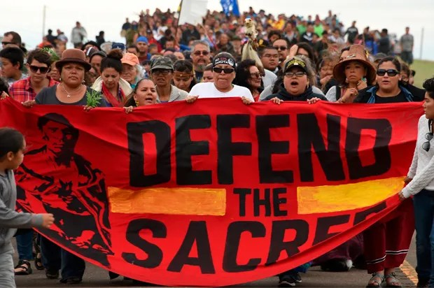 Image result for Dakota Pipeline Protest Signs