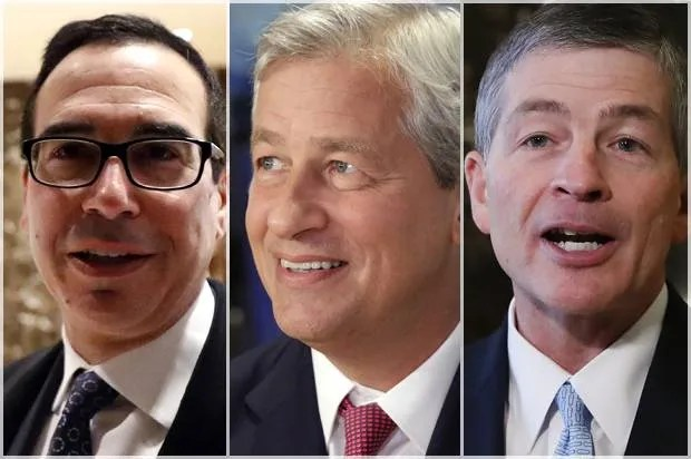The wolves of Wall Street: Trump's Treasury contenders — what big teeth they have ...