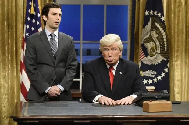 """Thanks, Trump! """"Saturday Night Live"""" reclaims its satirical mojo amid a national emergency"""
