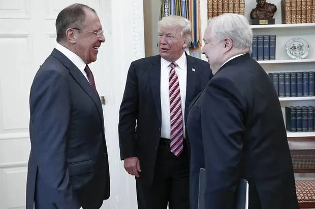 "Report: Trump ""revealed more information to the Russian ambassador than we have shared with our own allies"""