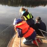 Provfiske i Vårgärdssjön