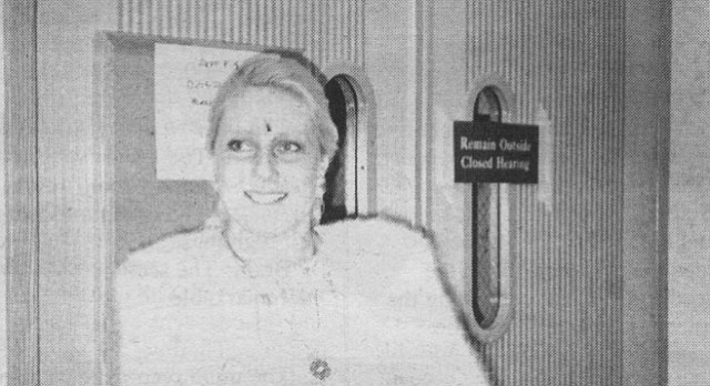 Betty Broderick reversed herself and told the judge that the courtroom should remain closed
