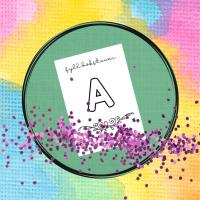 alfabetet målarbilder