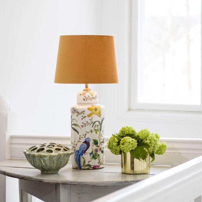 bordslampor i porslin