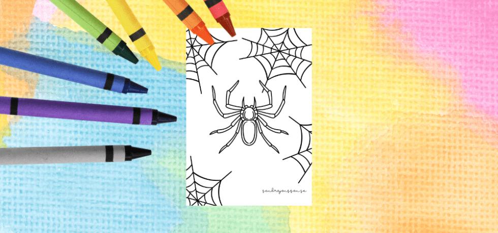 spindel målarbilder