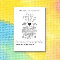 Monsterberättelser – skriv om Pälsmonstret