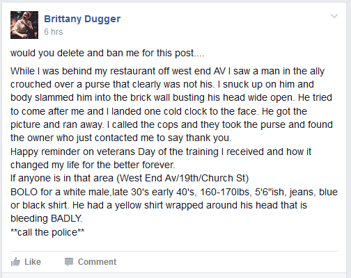 dugger thug post