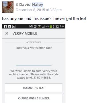 david phone number